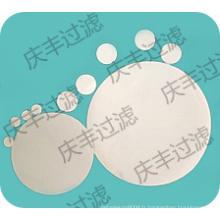 Filtres à membrane de nitrate de cellulose 0,45 um pour laboratoire