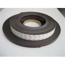 Cinta magnética de caucho flexible con adhesivo