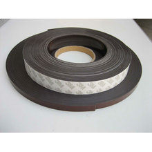 customized flexible rubber magnet tape with adhesive