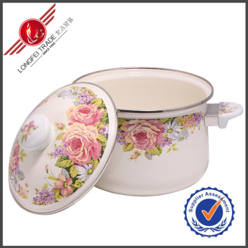 Eco-Friendly Enamel Cookware Sauce Pan