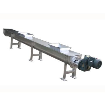 Screw conveyor material conveyor equipment