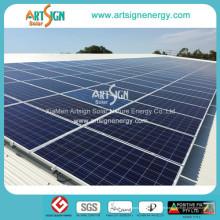 Sonnenkollektor, Montaje Solar PARA Techo Metalico