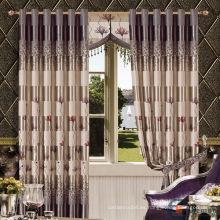 Caliente venta real más reciente hotel de lujo blackout frilled cortinas hechas en China
