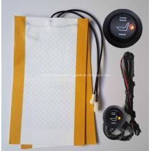 Car seat heated cover wamer