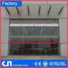 CN 4 Wings porta giratória automática, vidro porta curvada automática, porta deslizante automática fábrica de preço competitivo de qualidade superior