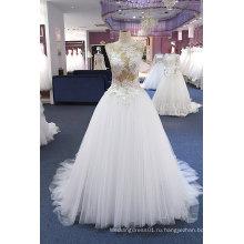 Шампанское Кружева Лиф Тюль Нижняя Свадебное Платье