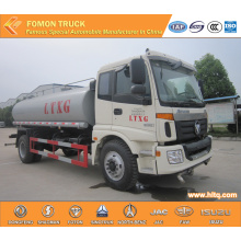 FOTON 4X2 12000L stainless steel oil truck