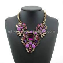 Construcción artística tres Zinc aleación accesorios colgantes collar