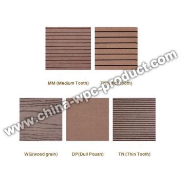 Surface de produits WPC