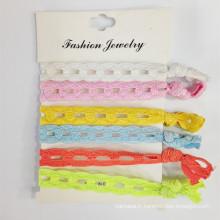 Bracelet élastique en tissu Bracelet pour cheveux (HEAD-339)