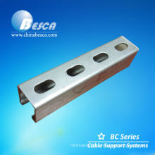 Metal Sheet Slotted C Channel