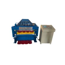 Metal Trapezoidal Bentuk Steel Roll Forming Machine