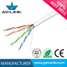 Guangzhou cat5e cable de red de alta velocidad de cable de fábrica de precios bajos desde 1995