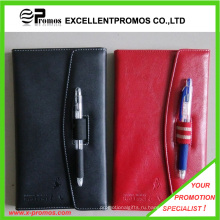 Кожаный ноутбук с ручкой (EP-B55511)