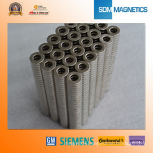 Small Strong Ring Neodymium Nickel Magnet