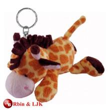 High quality custom stuffed animal keychain