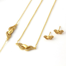 Hot Sale Modern Fashion Charm Jewelry Set (61200)