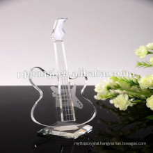 beautiful crystal volin music instrument for souvenirs