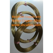 Beryllium Kupferlegierung C1720 Draht