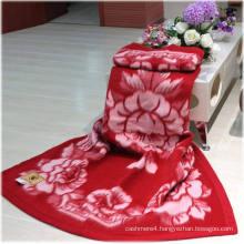 100% Wool Jacquard Blankets/Wool Blankets /Yak Wool Blankets/Cashmere Blanket