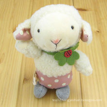 cute lovely standing stuffed toys plush live sheep