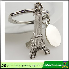 3D Eiffel Tower Key Chain with Laser Logo
