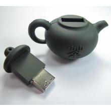 Forme de théière Forme spéciale USB Flash Drive