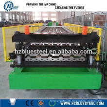 Color Steel Corrugated Roofing Sheet Roll Forming Machine For Metal Roof Tiles, Roofing Sheet Making Machine