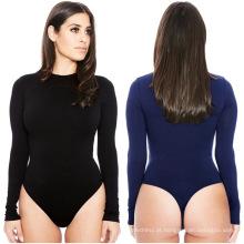 Impresso sólido moda 13 cores sem mangas night club maxi alta estiramento mulheres sub-revestimento macacão