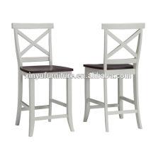 Chaise à barres haute qualité en couleur blanche XY3149