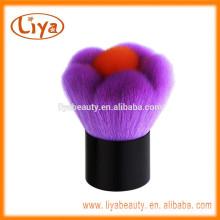 Bunte Custom Logo Make-up Pinsel weich Schönheitspflege