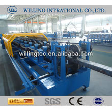 c/z shape steel purlin forming machine for construction