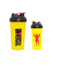 Gimnasio regalo coctelera botella/deporte agua proteína jugo de la taza