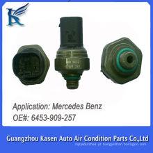 Auto Sensor de Pressão A / C para Mercedes BENZ 6453909257 Pressostato Transdutor