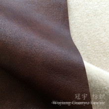 Polyester Leather Suede 100% Polyester Compound for Sofa