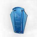 Nuevos trofeos azules de deportes de fútbol a estrenar en línea
