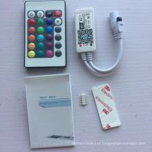 fácil operar o controlador DC5-28V 24 do wifi 24 chaves RGBW para luzes de tira do diodo emissor de luz