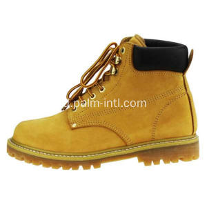 Suede Leather / Rubber Outsole Work Boots