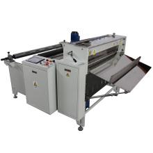 Máquina de corte de folha de plástico PVC e Pet