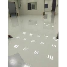 Recubrimiento de capa superior antiestática epoxi gris claro