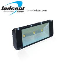 Luz de inundação do túnel do diodo emissor de luz 180W Light180W com o controlador de Meanwell da microplaqueta de COB de Bridgelux