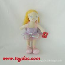 Schöne Kleidung Plüsch Ballett Puppen