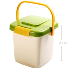 Plastic Pet Dog Cat Animal Food Storage Bin