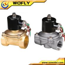 1/8 ~ 2 Zoll Messing / Edelstahl Material normal offen / normal schließen Wasser Magnetventil 12V / 24V / 110V / 220V / 230V / 240V