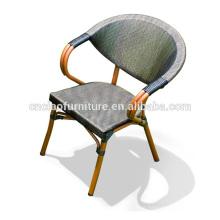 Spezielle Entwurfs-heiße Verkaufs-Aluminiumbambus-Stühle für Kaffee Shope
