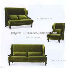 Recepción de hotel sofá de lujo XY2807