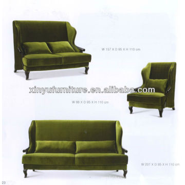 hotel reception luxury sofa XY2807