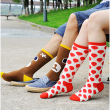 His-or-Her Cotton Crew Socks (WA050)