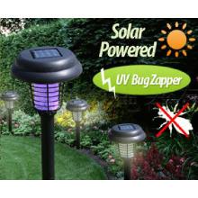 Tueur solaire de moustique de photocatalyseur de LED, piège UV de mouche de lampe de Zapper d'insectifuge de répulsif de tueur