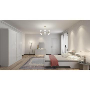 Набор для спальни в современном мраморном стиле